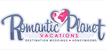 Romantic Planet Vacation Logo